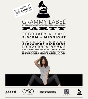 Grammy Label party - The Rambles - IamGreg.com